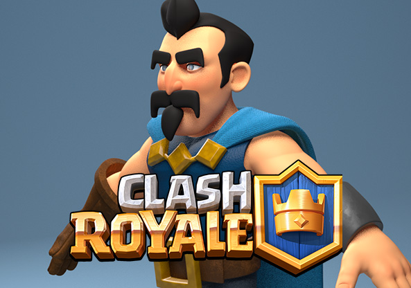 Personal concept for Clash Royale by Supercell.