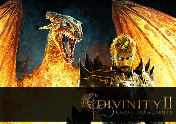 Main menu for Divine Divinity 2: Ego Draconis