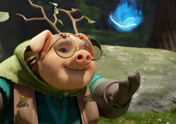 Eógan The Druid Pig