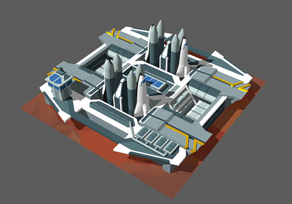 Environment models for Goodgame Empire Millenium Wars